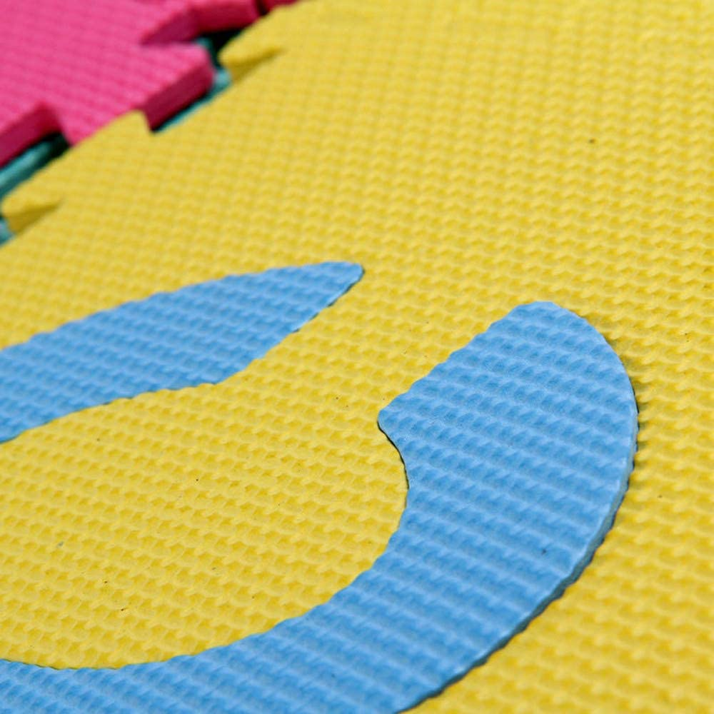 Dacorda 36pcs Large Alphabet Numbers EVA Floor Play Mat Baby Room ABC Foam Puzzle,Children Playing Carpet Floor Mat