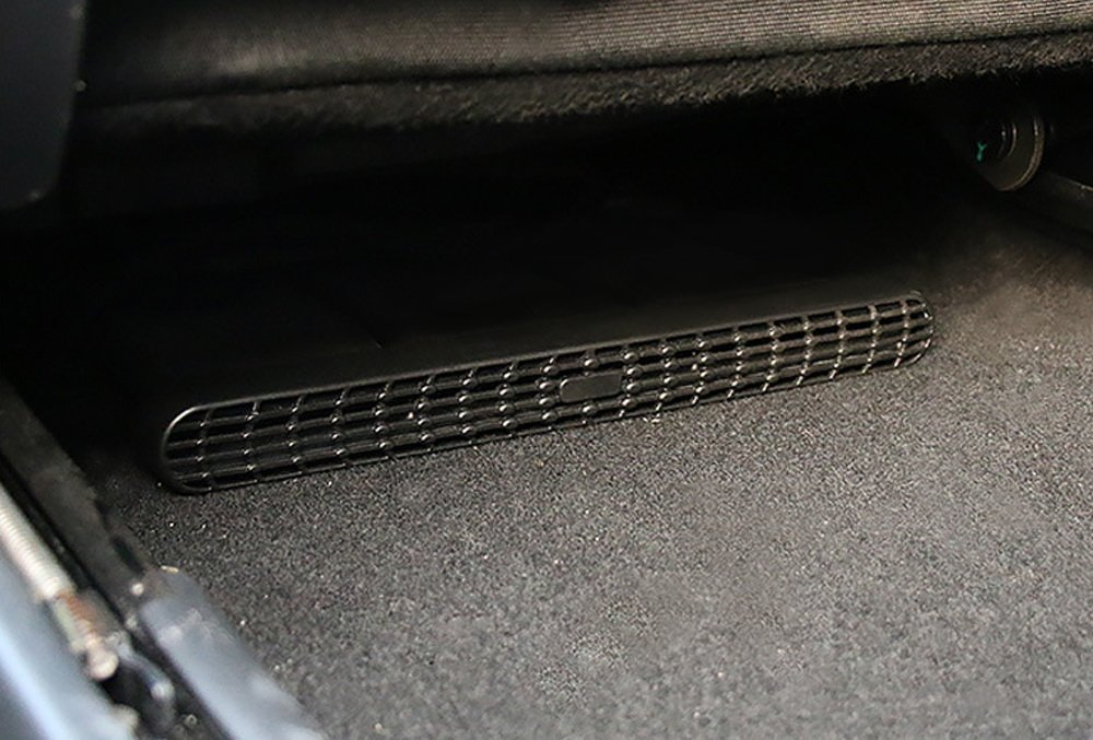 2 Under Front Seat Air Vent Cover Grilles for 2013-up BMW F30 F31 F32 F33 F34 3 4 Series, 3GT, 4 Gran Coupe, etc iJDMTOY