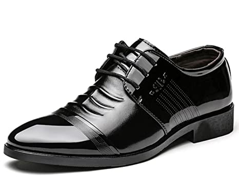 9f6e05048caf6 Amazon.com: CSDM Big Promotion Men'S Business Casual Shoes Single ...