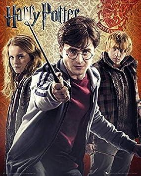 Nosoloposters GB Eye, Harry Potter 7, Trio, Mini Poster 40x50cm