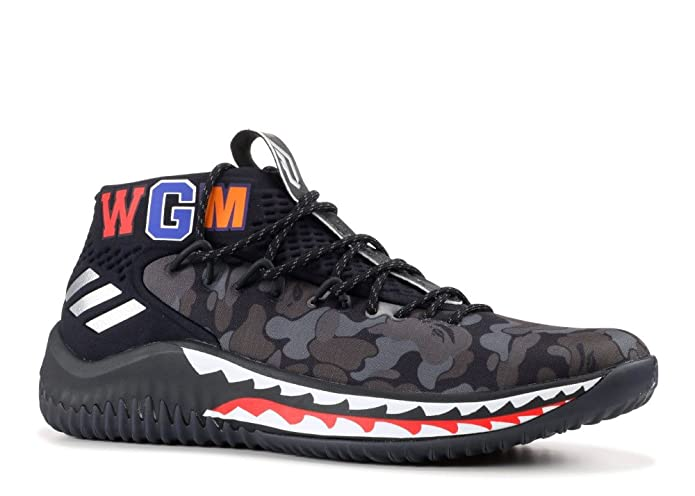 ef05f219634 Amazon.com  adidas Dame 4 BAPE - AP9975 - Size - 8  Shoes