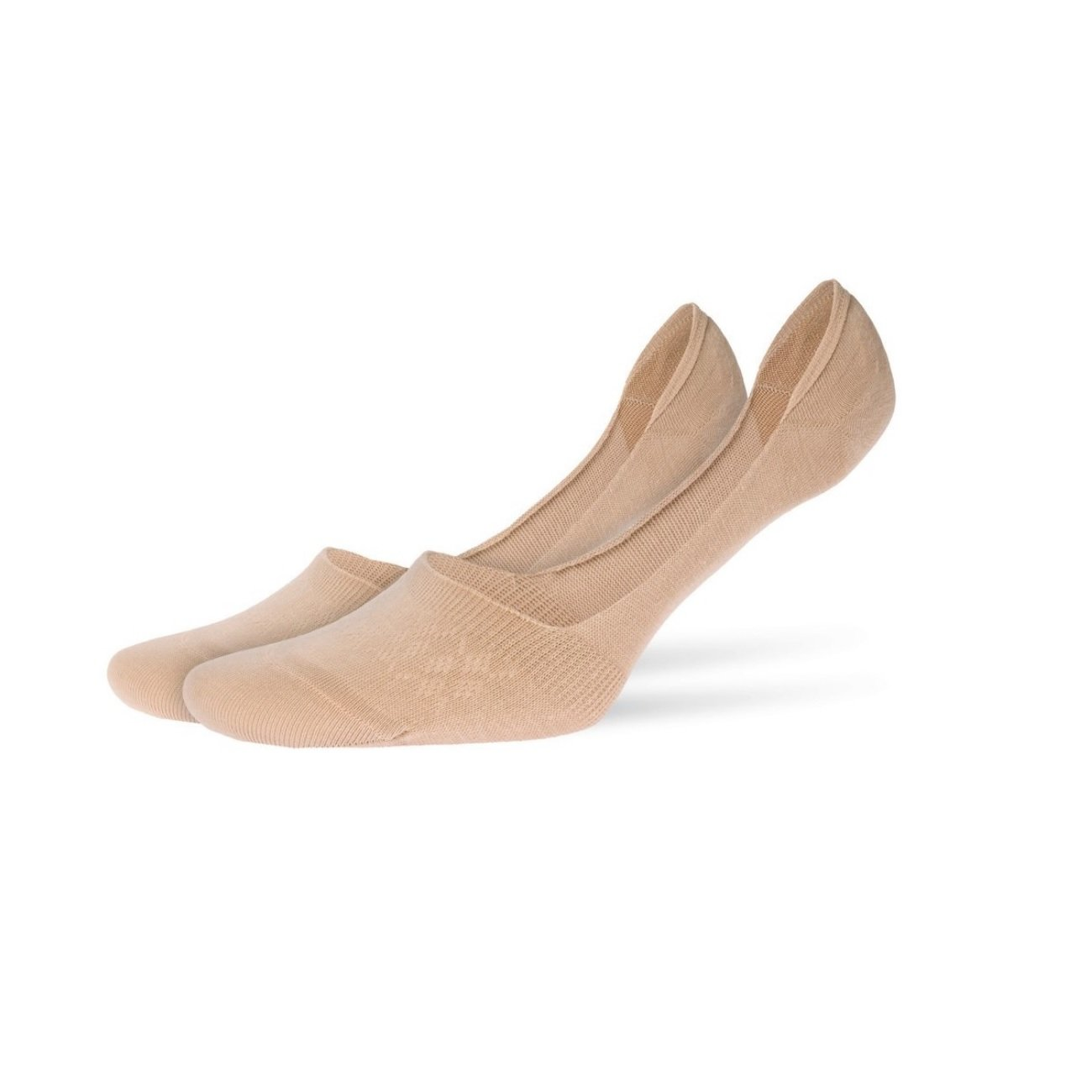 2P du 35 au 42-68/% Coton Femme BURLINGTON 30/% Polyamide 2/% Elasthanne Confort optimal et invisibles dans les chaussures Lot de 2 paires de prot/èges pieds Everyday