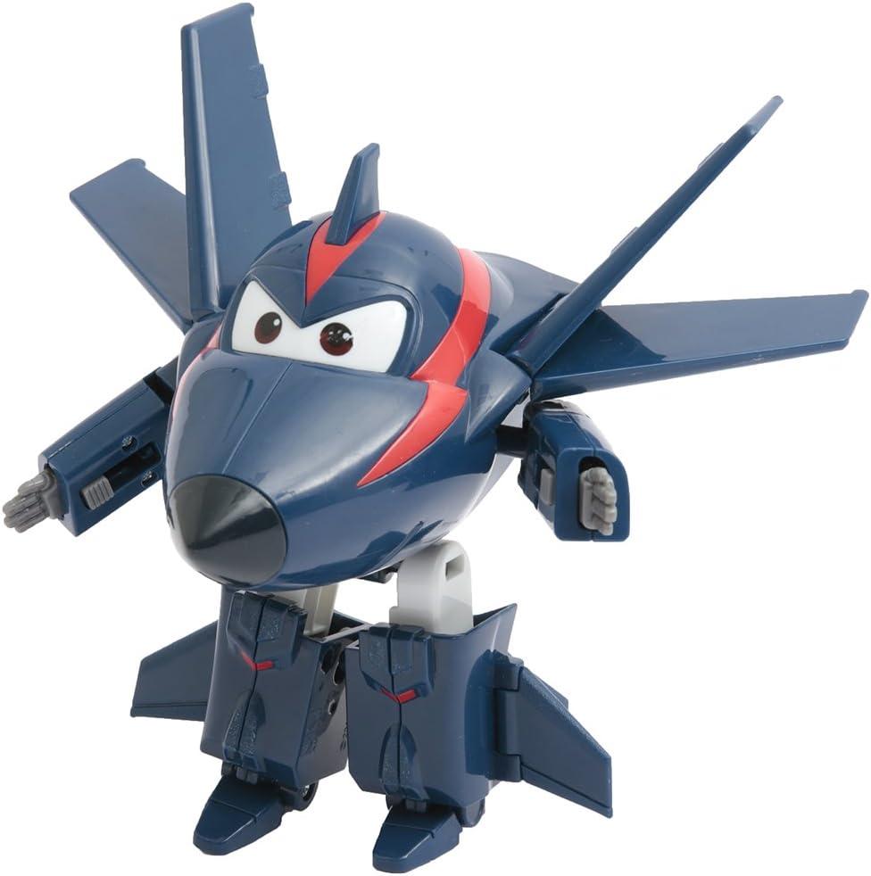 Giochi Preziosi–Super Wings personaggio Convertible articulado, 12cm Chase