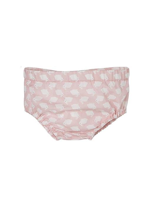 2832356dc VERTBAUDET Conjunto de 3 prendas con motivo de conejitos para bebé niña con  vestido + pantalón
