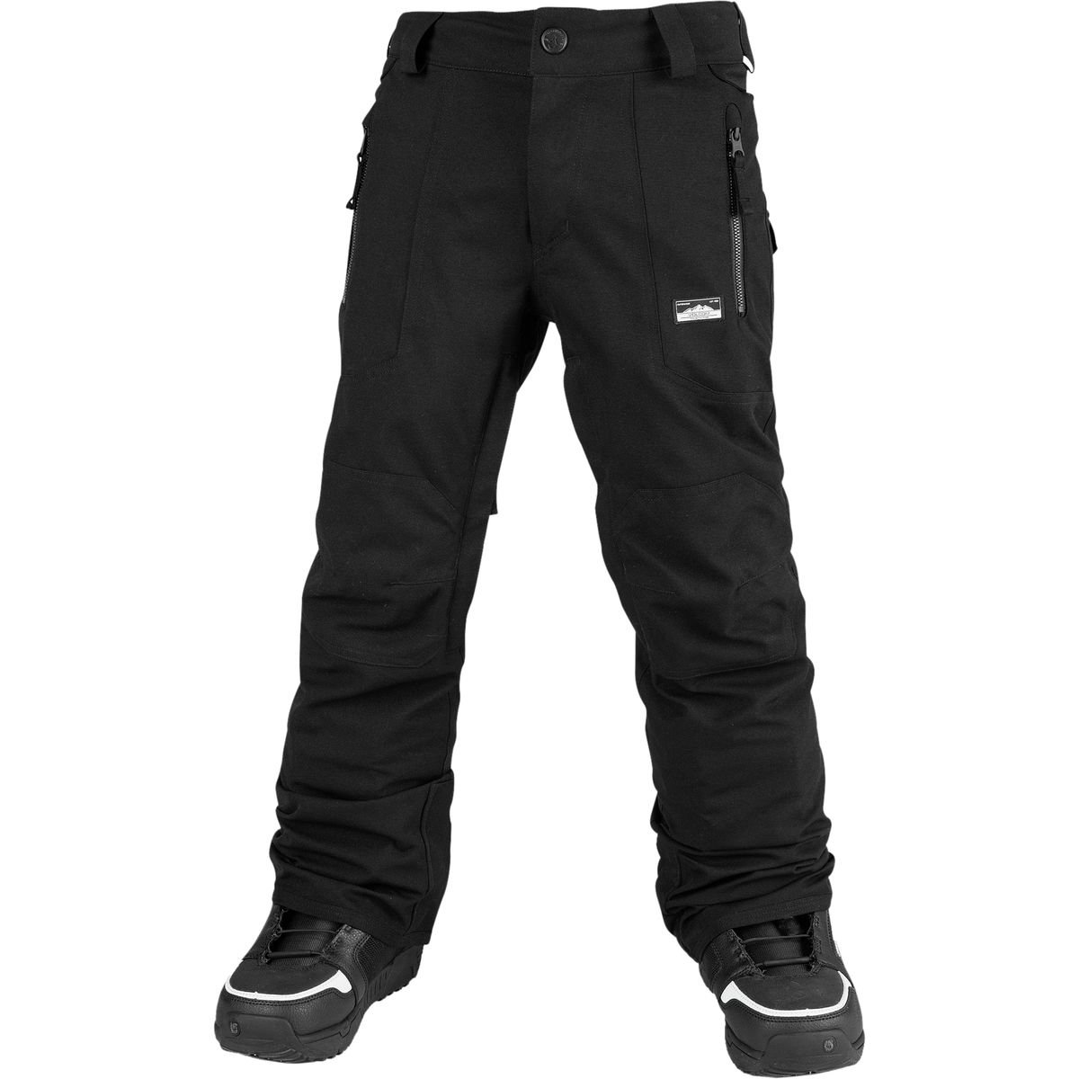 Volcom Big Boys' Datura Pant, Black, L by Volcom