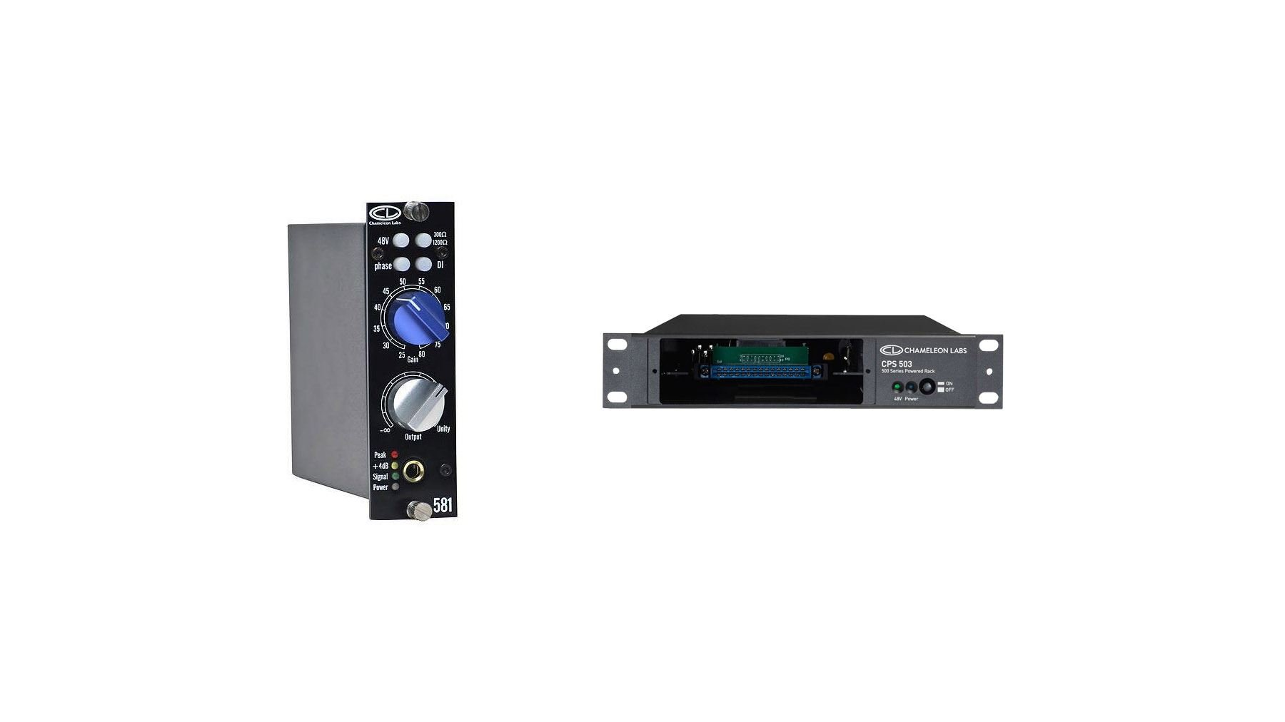 Chameleon Labs CL581 w/ Chameleon Labs 500 Series PSU Bundle