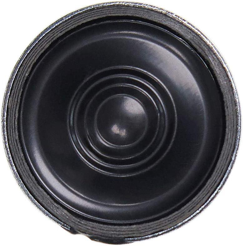 Almencla Schwarzer Runder Interner Magnetischer Lautsprecher 23mm 0.5W 8 Ohm Lautsprecherteile