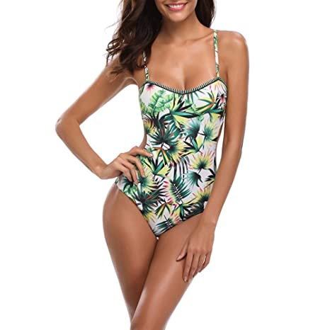Traje de baño de una pieza. Bikini para mujer Trajes de baño ...