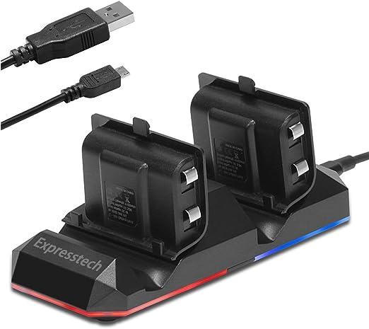 Expresstech @ Doble base de carga Soporte estación de carga Dual ...