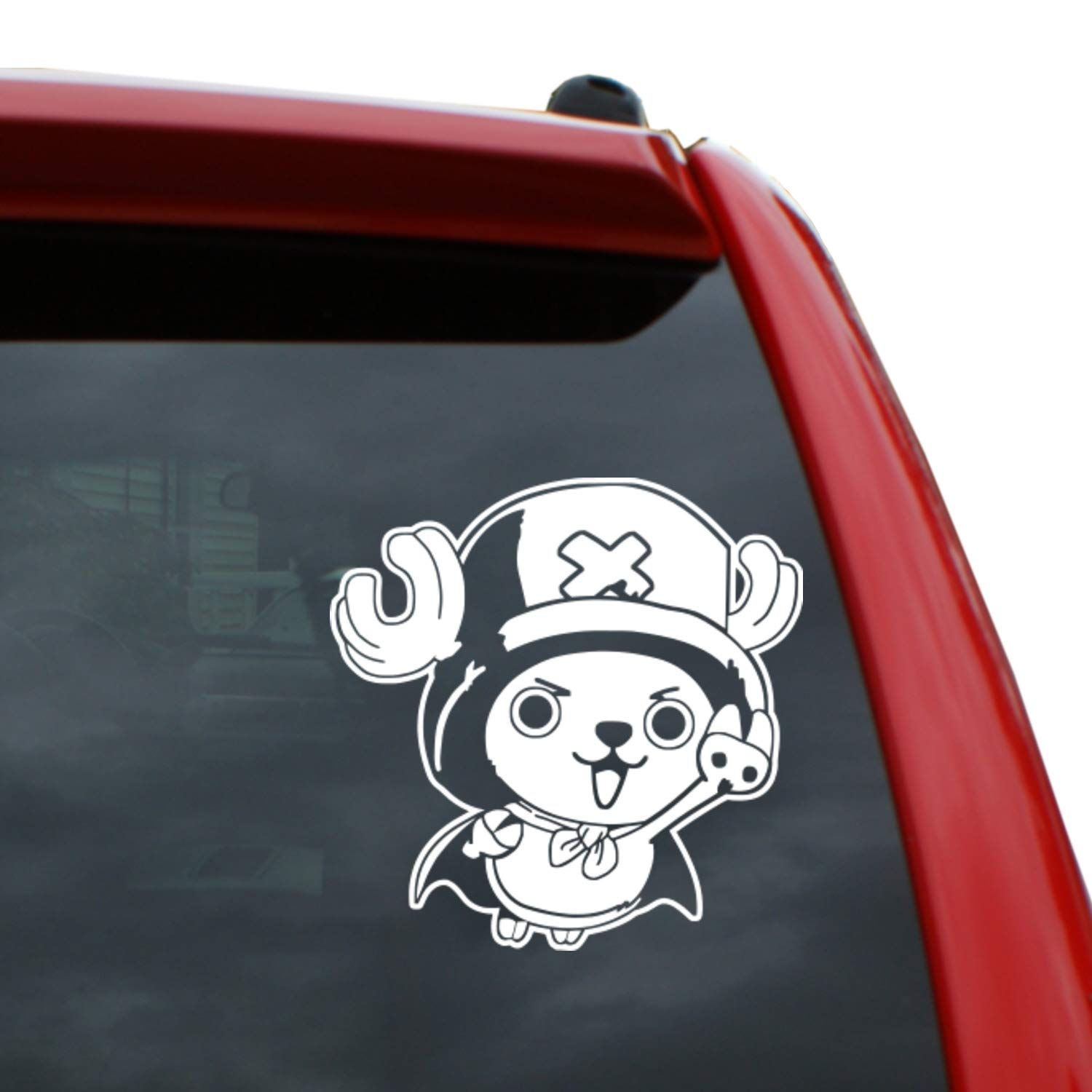 Amazon com one piece tony chopper 5 tall vinyl decal window sticker for cars trucks windows walls laptops and more automotive