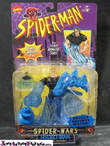 Toy Biz Spider - Spider-Wars: Hydro-Man& Aquatic Arsenal by Spider-Man