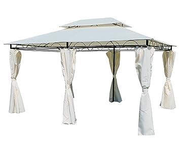 ASS Verschiedene Gartenpavillon Pavillon Mit Dachstoff Mind UV30 UV50 Rechteckig Eckig Rund 3x3 3x4 3