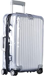 Luggage Cover Protector Clear PVC Suitcase Protective Case with Black Zipper for RIMOWA Topas ...