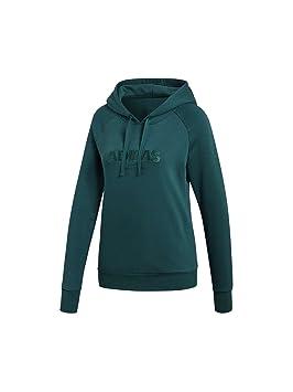 adidas Ess Allcap Oh H - Sweat-Shirt À Capuche Sport - Femme  Amazon ... 5bd3de786e8