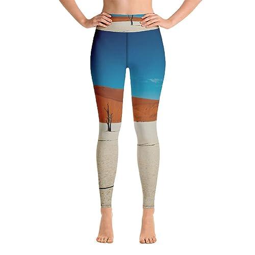 Amazon.com: Womens Yoga Leggings Activewear Bare Trees All ...