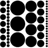 Amazon Price History for:Assorted Size Polka Dot Decals - Repositionable Peel and Stick Circle Wall Decals for Nursery, Kids Room, Mirrors, and Doors