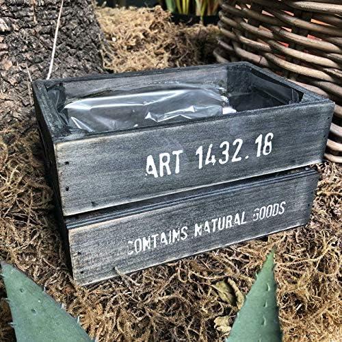 Homes on Trend - Caja de madera rústica para guardar verduras: Amazon.es: Bricolaje y herramientas