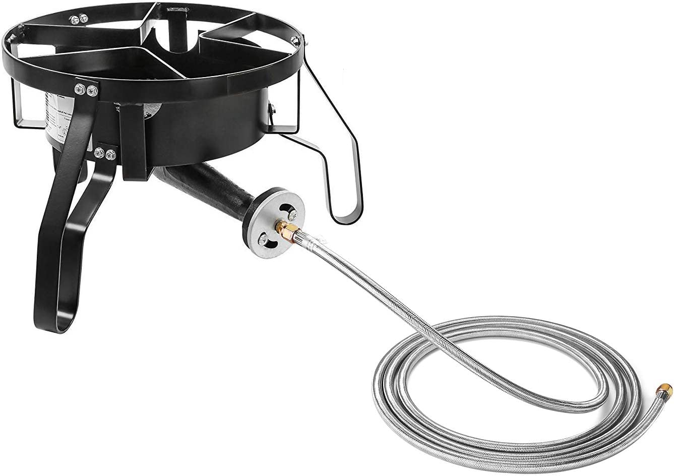 WADEO 12 Foot Propane Hose Assembly,