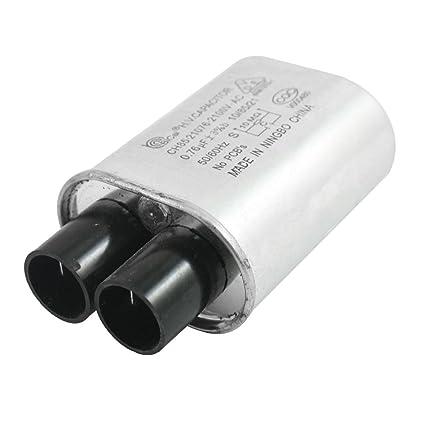 Aexit AC 2100V 0.76uF 3% 50 / 60Hz Condensador de horno de ...