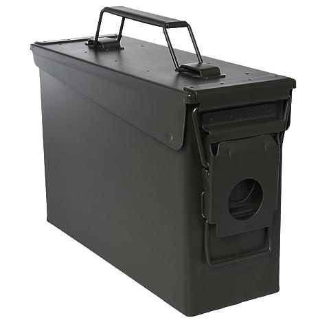 Ivation Ammo Storage Box u2013 Airtight u0026 Waterproof Storage for .30 Caliber Ammunition u2013 10u0026quot  sc 1 st  Amazon.com & Amazon.com : Ivation Ammo Storage Box - Airtight u0026 Waterproof ...