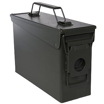 Ivation Ammo Storage Box u2013 Airtight u0026 Waterproof Storage for .30 Caliber Ammunition u2013 10u0026quot  sc 1 st  Amazon.com & Amazon.com : Ivation Ammo Storage Box - Airtight u0026 Waterproof ... Aboutintivar.Com