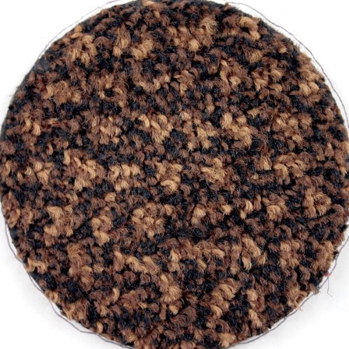 M A Matting 125 Brown Heather Nylon ColorStar Mat with SBR Rubber Backing, 6 Length x 4 Width, for Interior