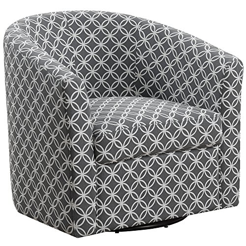 Monarch Specialties I I 8269 Accent Chair, Grey