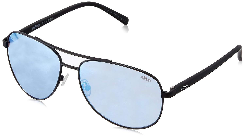 827d5c0f264 Amazon.com  Revo Unisex RE 5021 Shaw Aviator Polarized UV Protection  Sunglasses