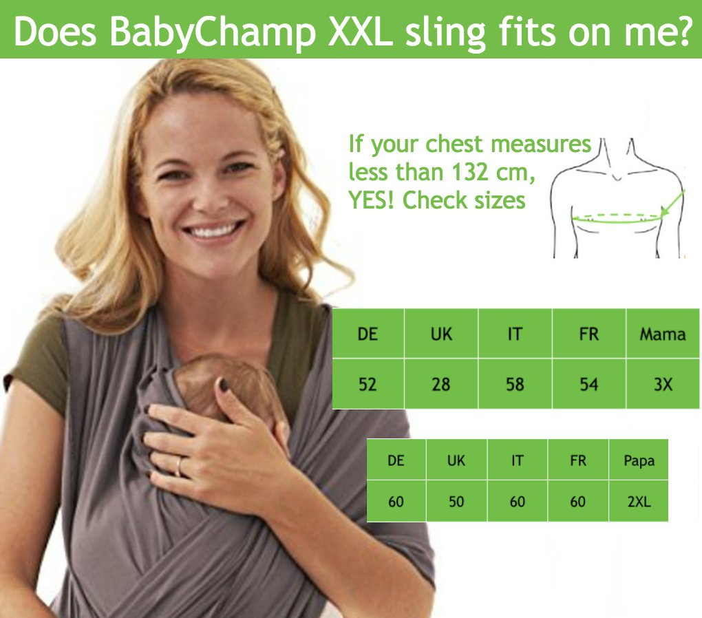 c5bf575d0ff1 Écharpes de portage 5-en-1 pour le nouveau-né   Cadeau bebé   Sling Coton  ...