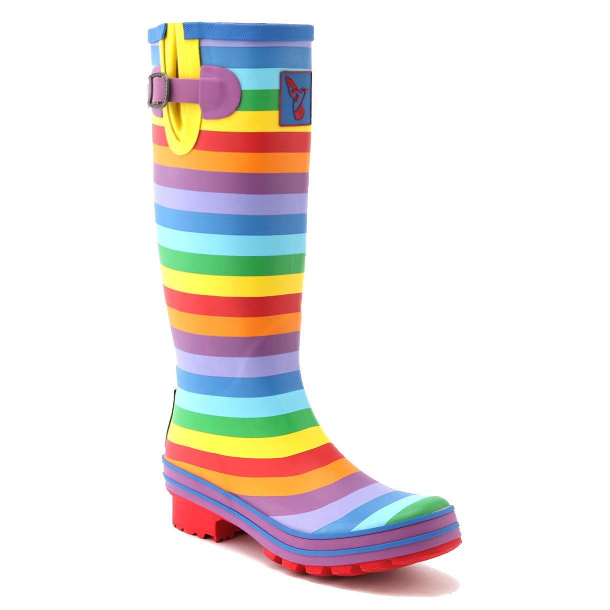 Evercreatures Women's Rain Boots UK Brand Original Tall Rain Boot Gumboots Wellies B008DS6JRO 9 B(M) US / UK7 / EU40|Multicolour