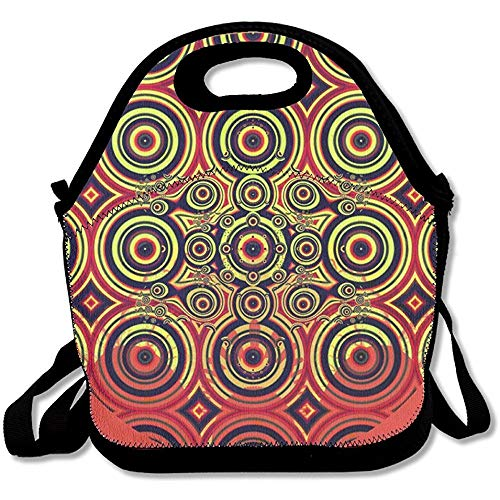 Art Nouveau Pineapple Easy To Carry Travel Essential Maintenance Lunch Bags