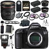Canon EOS 5DS-R 5DSR DSLR Camera + EF 24-70mm f/4L IS USM Lens + LPE-6 Lithium Ion Battery + Canon 100ES EOS shoulder bag Bundle 10