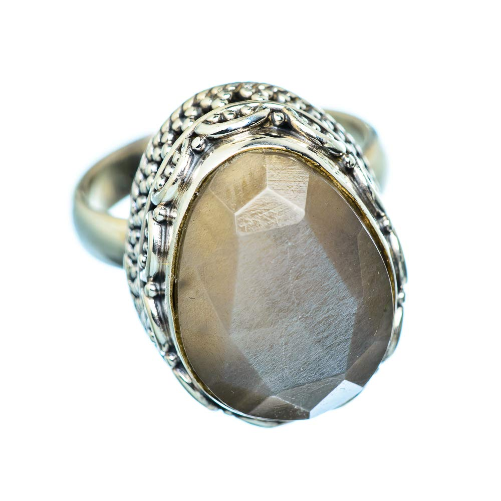 Ana Silver Co Labradorite Ring Size 6.25 925 Sterling Silver - Handmade Jewelry Bohemian Vintage RING949972
