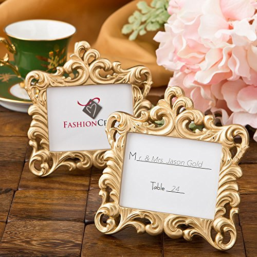 Gold Baroque style frame favor from (Grande Baroque Gold Accent)