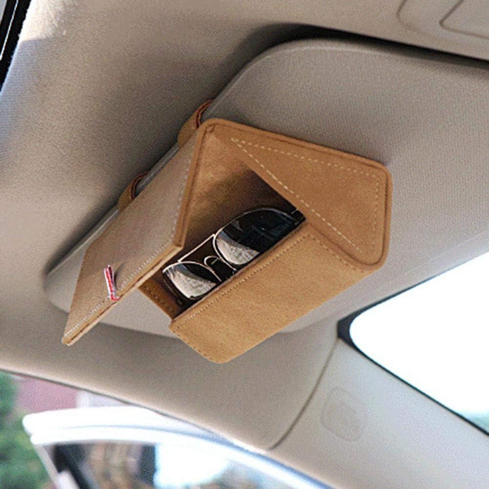 Brillen Ablage:Brillen Halter Auto belukies Brillenhalter Auto,brillenhalterung Auto,Brillenbox,brillenablage F/ürs Auto