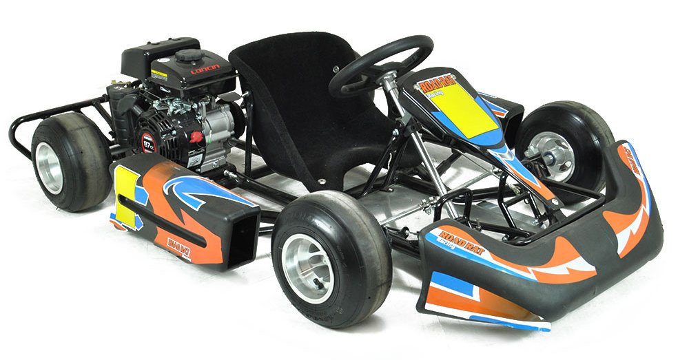 Junior Kids Cadet 90cc Racing Go Kart Bambino Mini Race Raceway ...