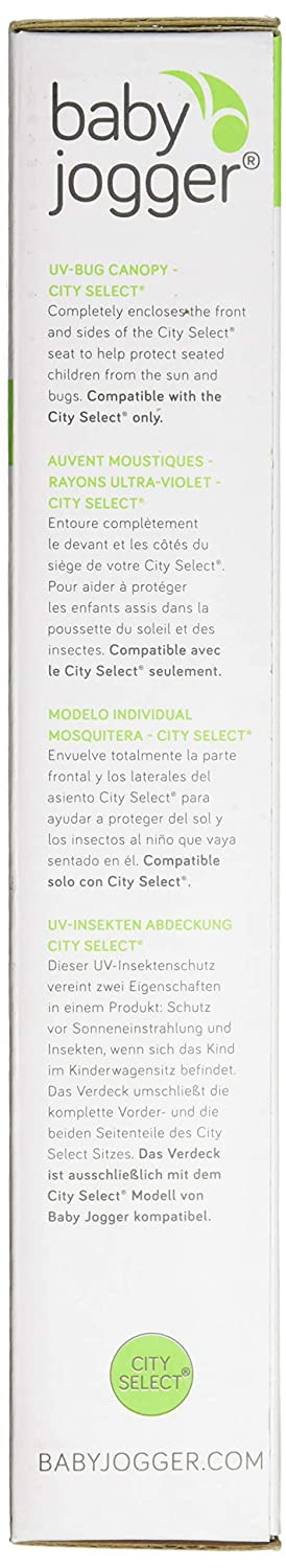 Amazon.com : Baby Jogger UV/Bug Canopy, City Select : Baby Stroller Insect Netting : Baby