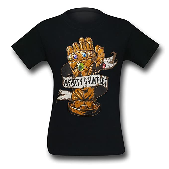 new arrive fashion style of 2019 popular brand Marvel Thanos Infinity Gauntlet T-Shirt