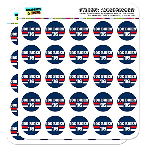 "Biden 2016 Joe Biden for President 1"" Scrapbooking Crafting Stickers"