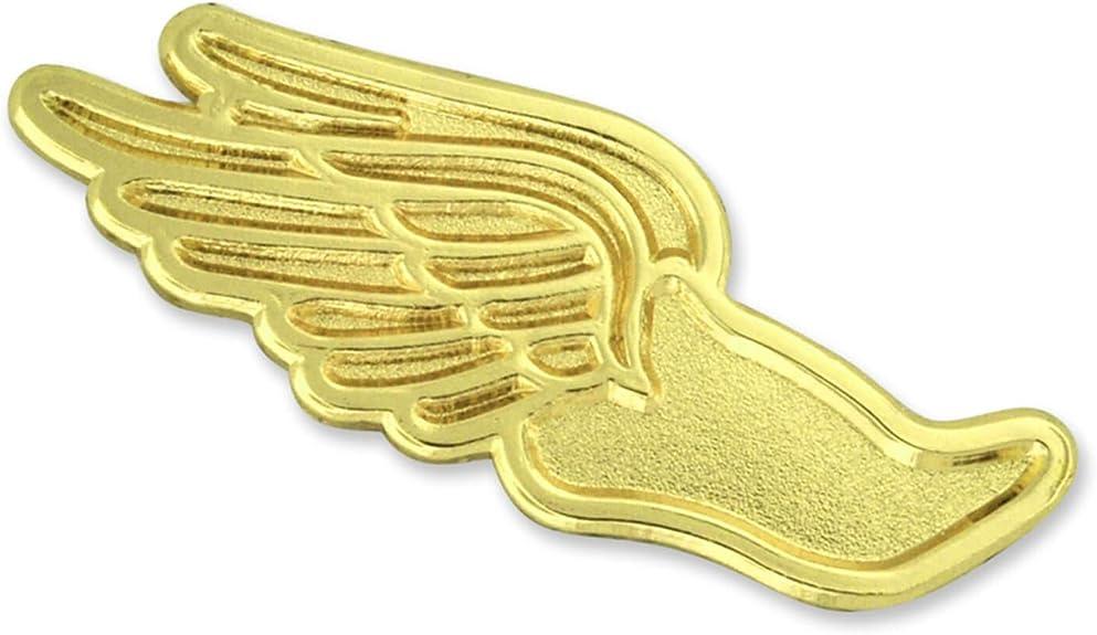 Track Shoe Lapel Pin