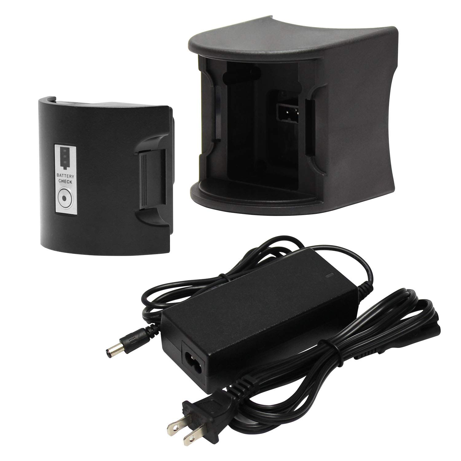 New & Improved Rechargeable Ni-Cade Battery & Charger for TERAPUMP Electric Drum Pump TReDRUMS (Standard) / TReDRUMT (Telescopic) by TERA PUMP (Image #3)