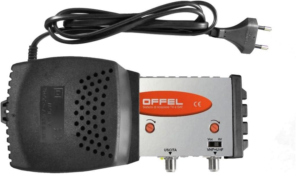 centralino ancha banda para interior OFFEL entrada VHF + UHF ...