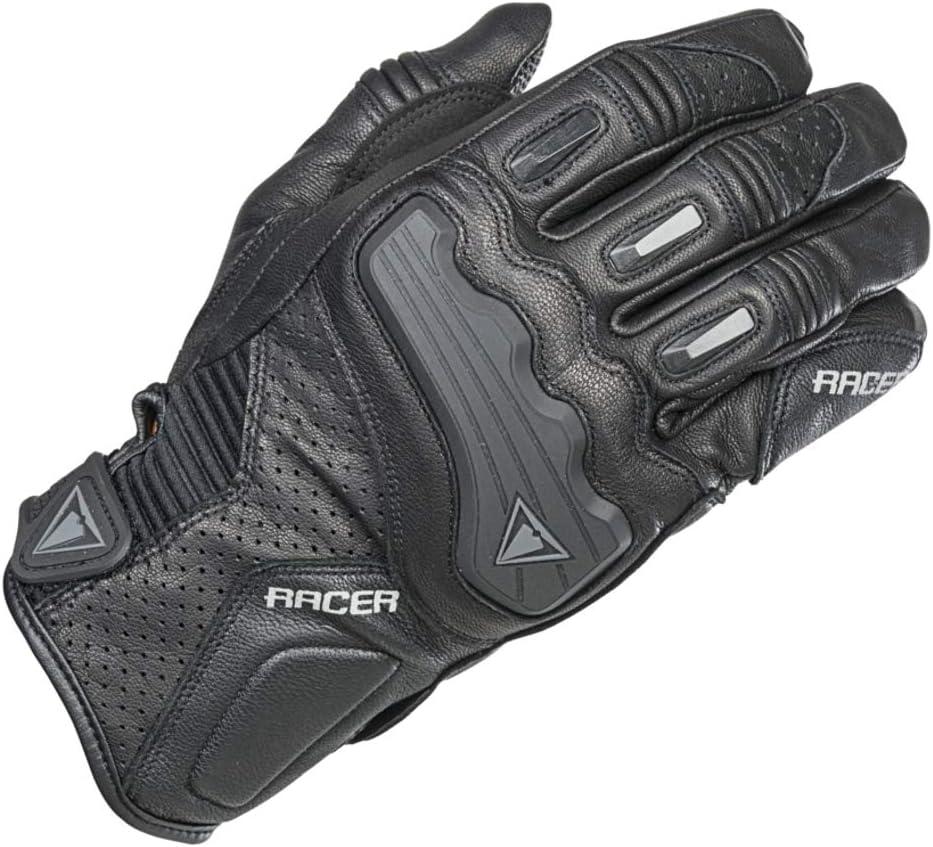 Racer Guide Handschuh Gr/ö/ße 2XL Schwarz