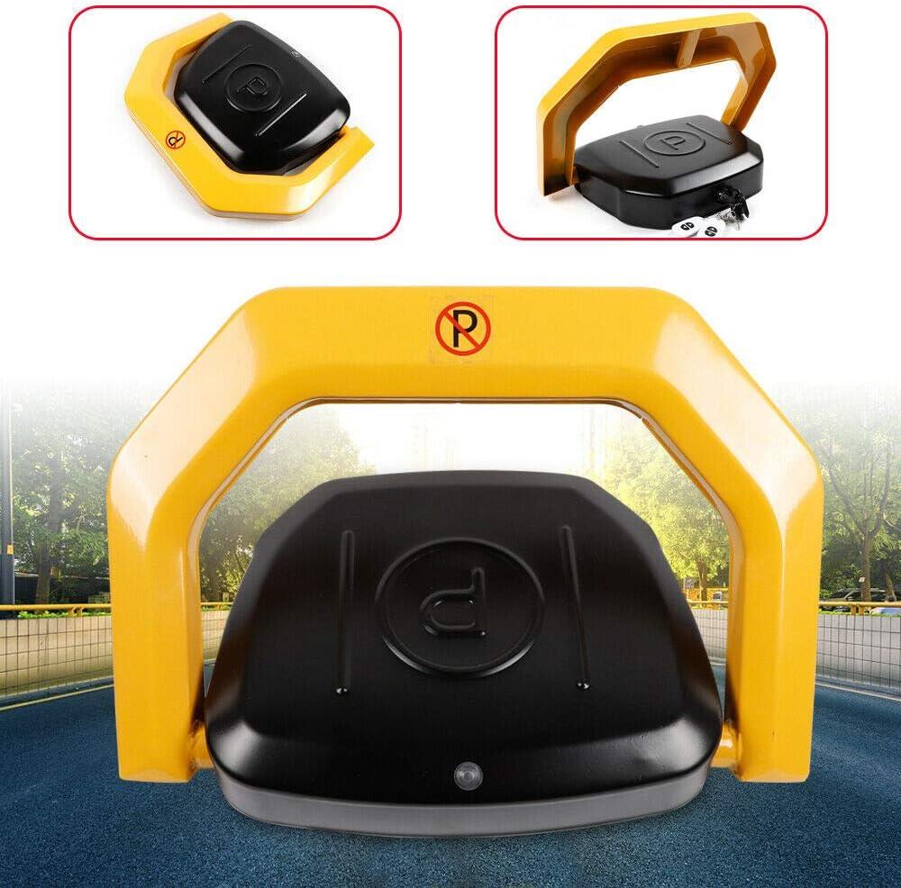 Barrera de aparcamiento con mando a distancia autom/ático de 30 m anticolisi/ón barrera de 180/° duradera