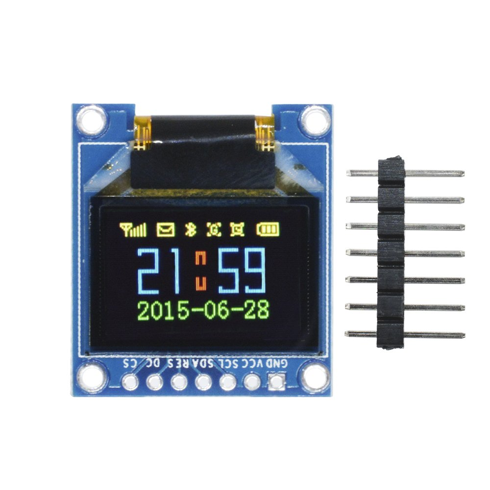 Diymore 0.95'' inch 7-pin Full Color 65K SSD1331 96X64 Resolution SPI OLED Display Module for Arduino
