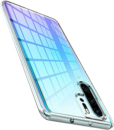 Spigen Liquid Crystal Designed for Huawei P30 Pro Case (2019) - Crystal Clear