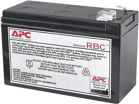 Apc Apcrbc110 Ersatzbatterie Für Unterbrechungsfreie Computer Zubehör