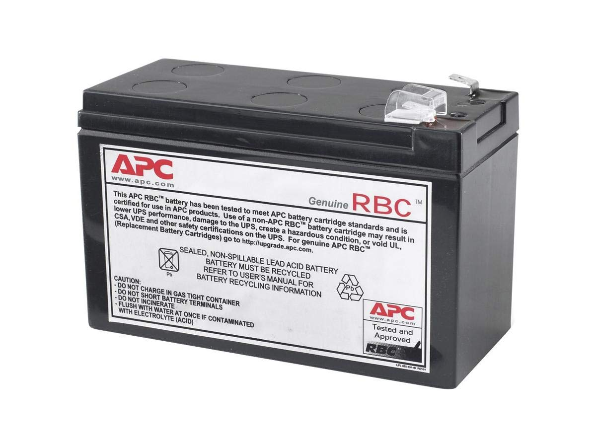 APC UPS Battery Replacement for APC UPS Model BE550G, BN600MC, BR550GI, BX650CI, BX700UI, BX800LI, BX3650CI, SX3800CI and Select Others (RBC110)