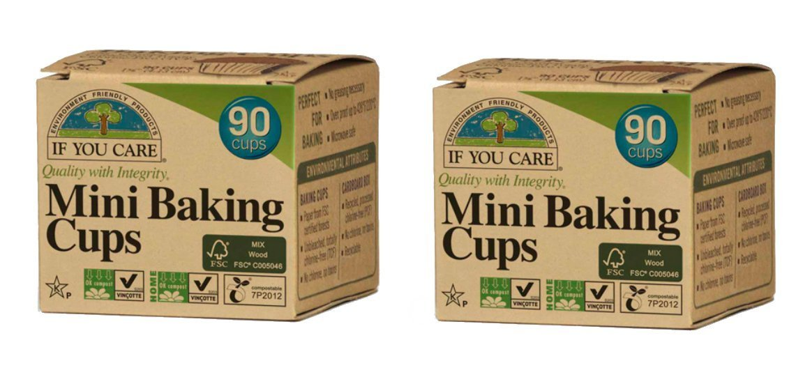 If You Care Mini Baking Cups - FSC Certified, 90 ct (2-pack)