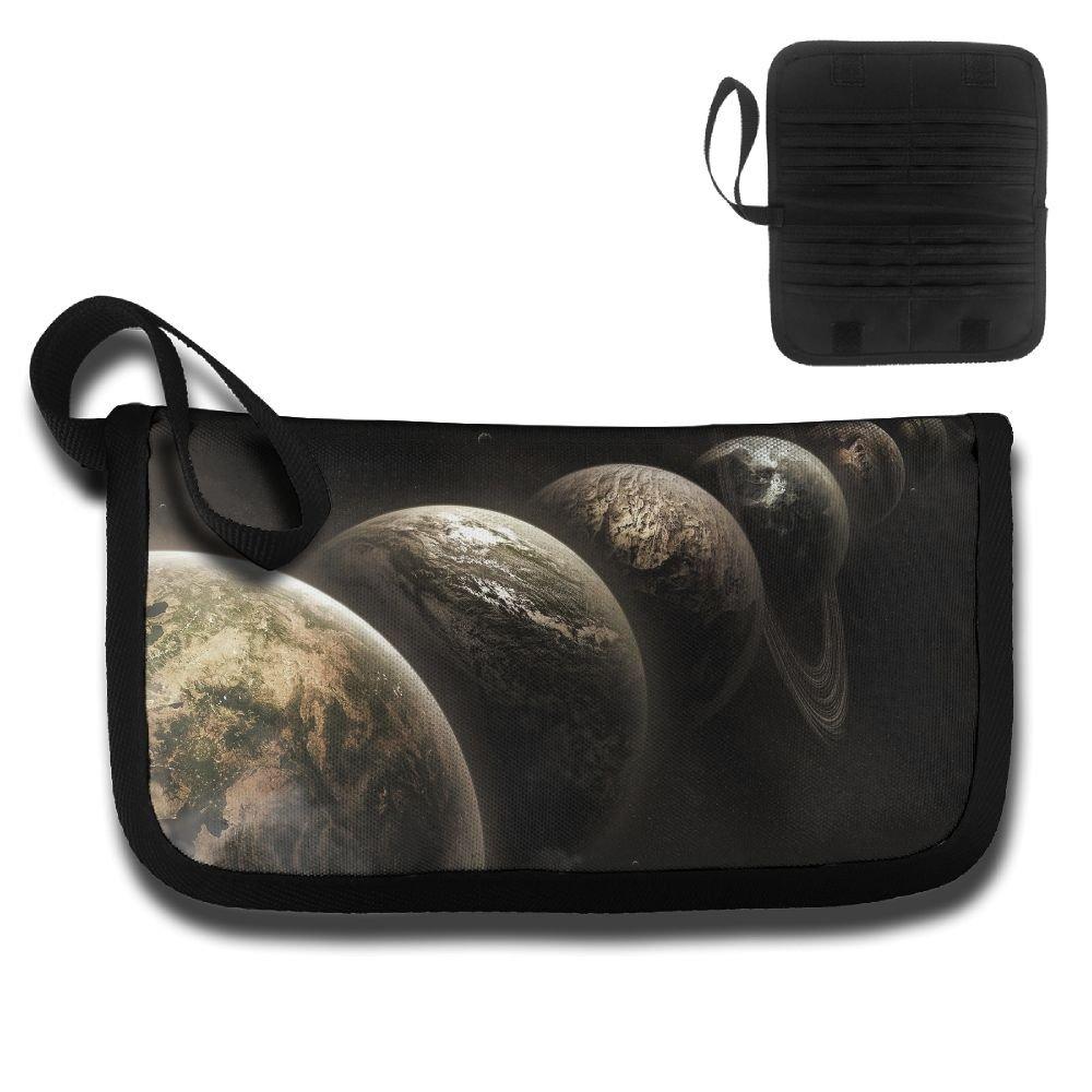Gili Ordered Planets Travel Passport /& Document Organizer Zipper Case